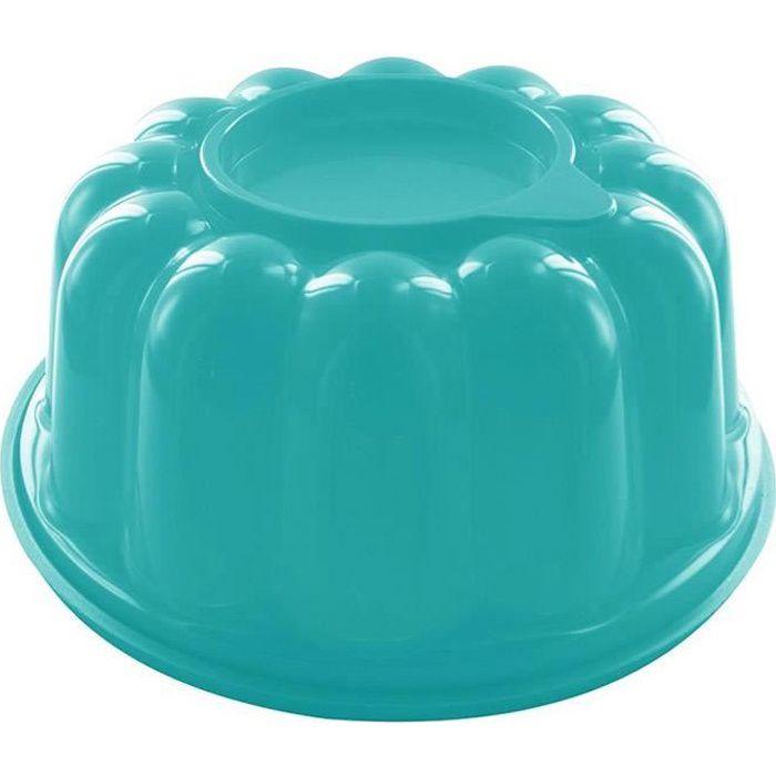 Moule à Entremet Charlotte Génoise - Grande Capacité 1,5 litres - Turquoise