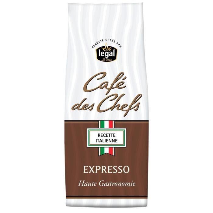 LEGAL Cafés des Chefs Expresso Moulu - 250 g