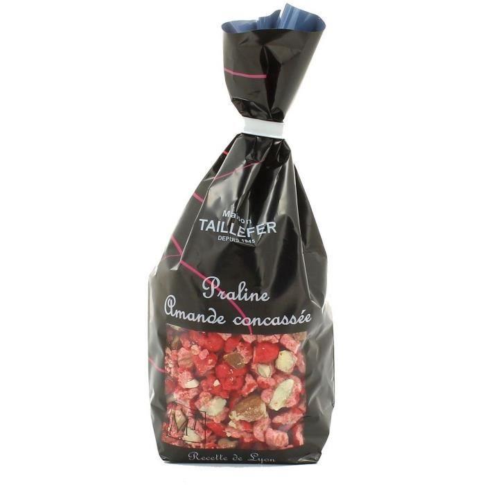MAISON TAILLEFER Pralines Amande Tradition Concassée Sachet Confiseur 250g