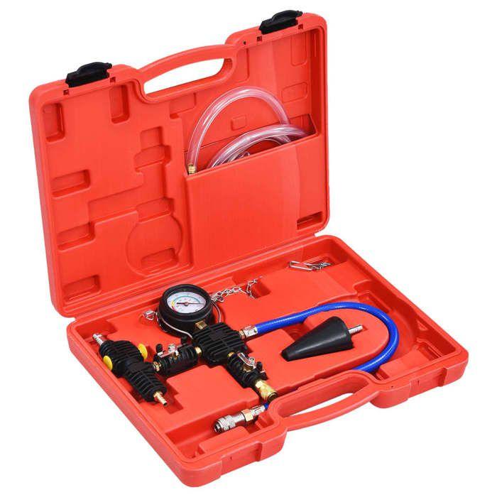 vidaXL Kit de vidange et de remplissage de système de refroidissement