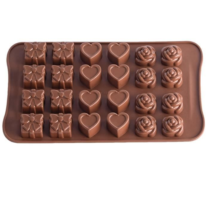 Silicone Gâteau Décoration Moule Bonbons Biscuits Cuisson Moule Outil
