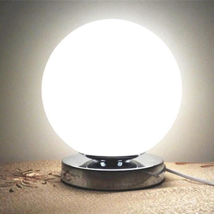 Lampe Boule De Table Led Unique Lampe De Bureau Decoration Achat