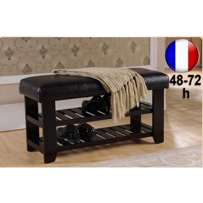 banquette banc d 39 int rieur meuble range chaussures design. Black Bedroom Furniture Sets. Home Design Ideas