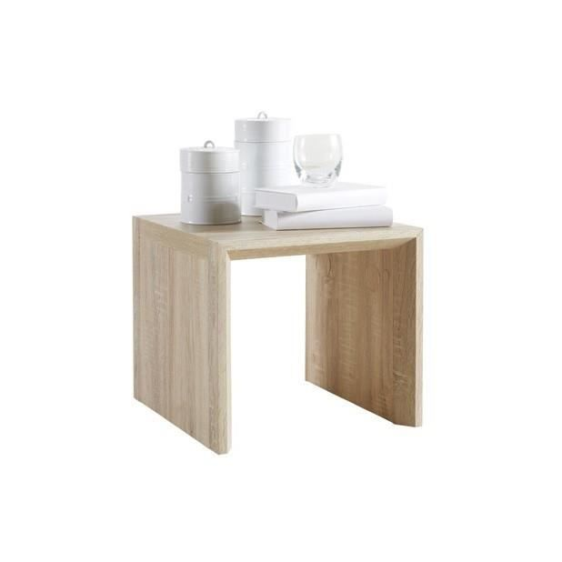 Table basse 39 agudo 39 chene brut achat vente table basse - Table basse chene brut ...