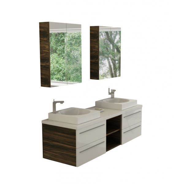 meuble salle de bain 160 achat vente pas cher. Black Bedroom Furniture Sets. Home Design Ideas