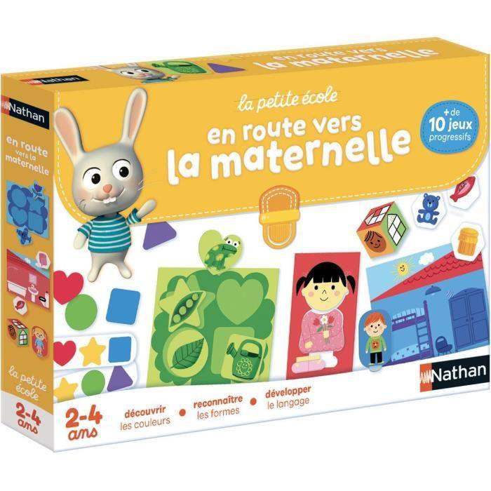 JEU D'APPRENTISSAGE NATHAN La Petite Ecole - En route vers la Maternel