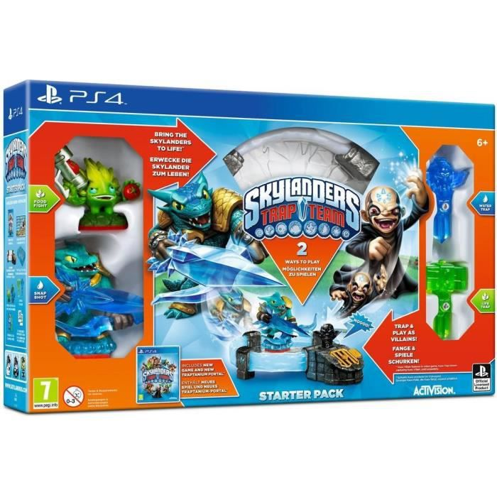 jeux pc video console xbox one skylanders trap team ps f  ele