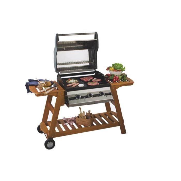 Barbecue gaz boston achat vente barbecue barbecue gaz boston cdiscount - Barbecue gaz a poser ...