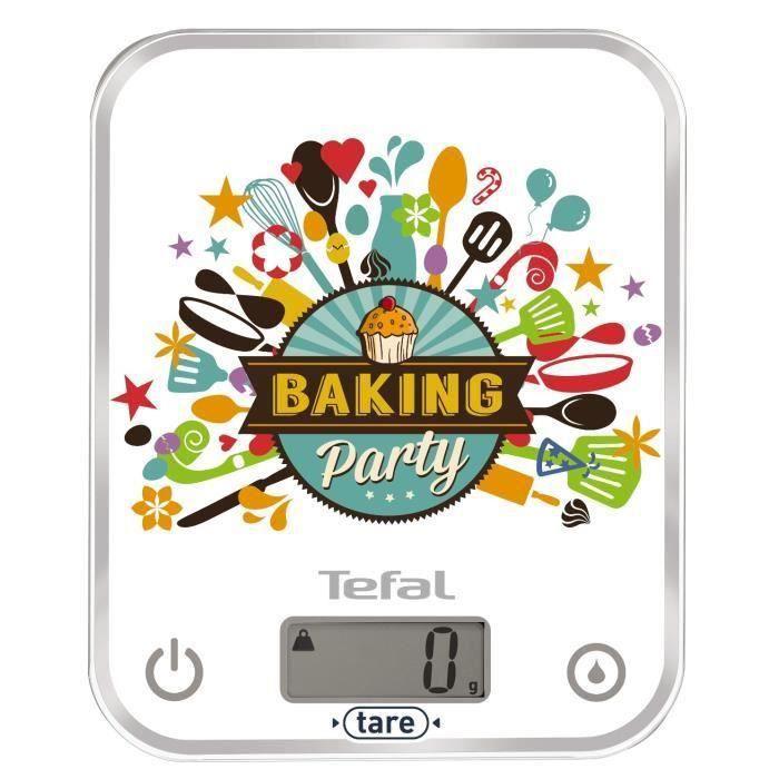 Photo de tefal-balance-de-cuisine-electronique-optiss-baking-party-bc5127v8
