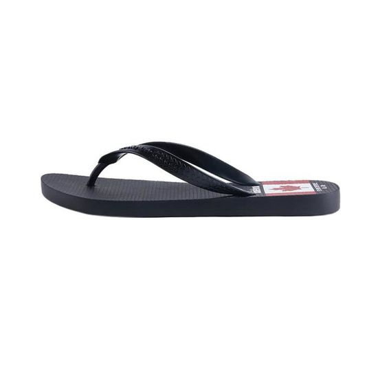 Black Sandals Taille Flip 42 Flops Slippers Light Weight Beach 3eme97 v8Nnwy0mO