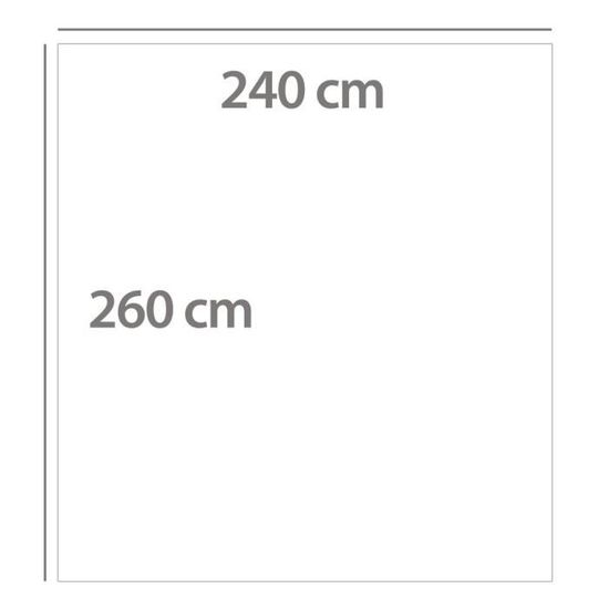 /280/x 280/cm Lit 180/ Vert SABANALIA rustik Couvre-lit Fine d/écorative