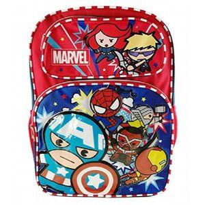 Marvel Neuf Pour Gar/çons//Enfants Avengers Sac Gym Avec Illustration /à lavant TAILLES UK 1-1 Bleu//Multi