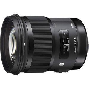 OBJECTIF Sigma Objectif 50 mm F1,4 DG HSM Art - Monture Can