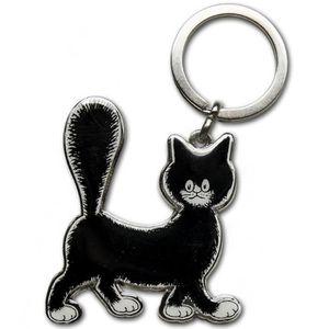 PORTE-CLÉS Porte clefs metallique Les chats de Dubout