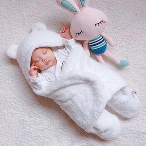 COUVERTURE - PLAID BÉBÉ Couverture de bébé Couverture de couchage unie en