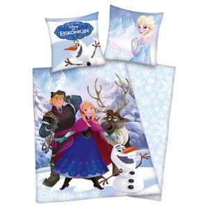 HOUSSE DE COUETTE SEULE Disney Frozen housse de couette 140 x 200 cm et ta