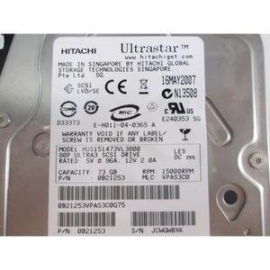 DISQUE DUR INTERNE Disque dur HITACHI HUS151473VL3800 SCSI 3,5