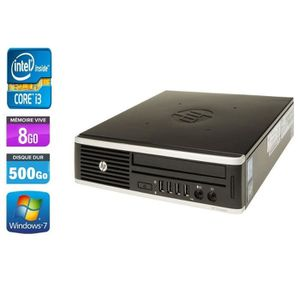 UNITÉ CENTRALE  HP ELITE 8200 USDT - INTEL CORE I3 2100 3,10 GHZ -