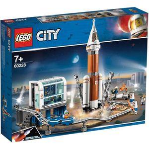 ASSEMBLAGE CONSTRUCTION LEGO® City 60228 La fusée spatiale et sa station d