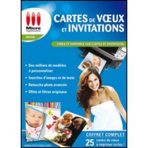 LOISIRS À TÉLÉCHARGER Logiciel Loisirs- Cartes de Voeux & Invitations-(P