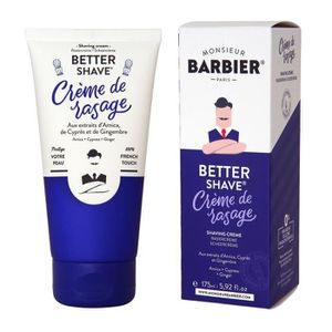 MOUSSE À RASER - GEL MONSIEUR BARBIER Crème de rasage Better Shave - 17