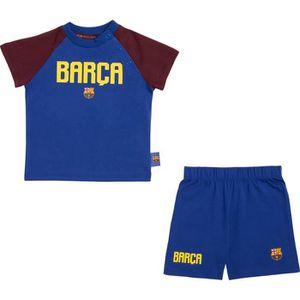 ENSEMBLE DE SPORT Ensemble t-shirt short bébé Barça - Collection off