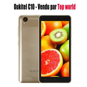 "SMARTPHONE 3G Smartphone Oukitel C10 5.0"" Android 7.0 Télépho"