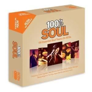 CD VARIÉTÉ INTERNAT COFFRET 5 CD 100% SOUL