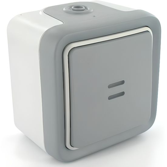 bouton poussoir non lumineux LEGRAND  annés 70 neuf en boite