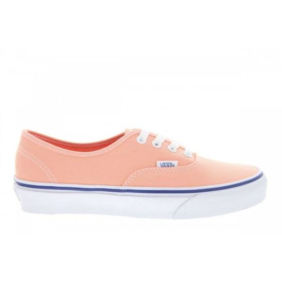 Baskets mode - Vans Authentic Canteloupe True  Orange Orange - Achat / Vente basket