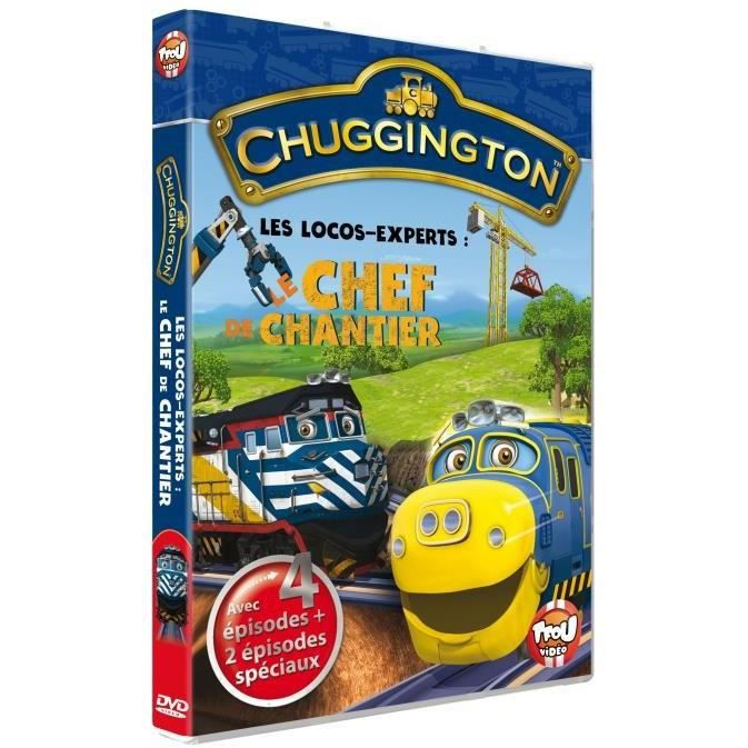 Chuggington volume 8 le chef de chantier en dvd dessin - Chuggington dessin anime ...
