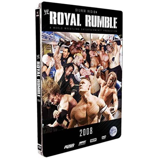 DVD DOCUMENTAIRE DVD Royal rumble 2008