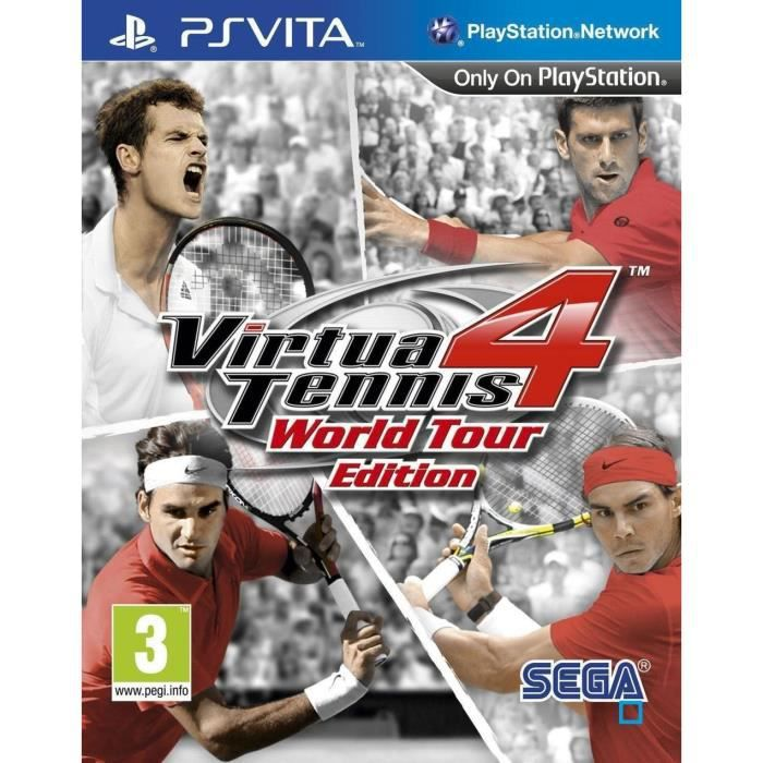 Virtua Tennis 4 World Tour Edition Jeu PS Vita
