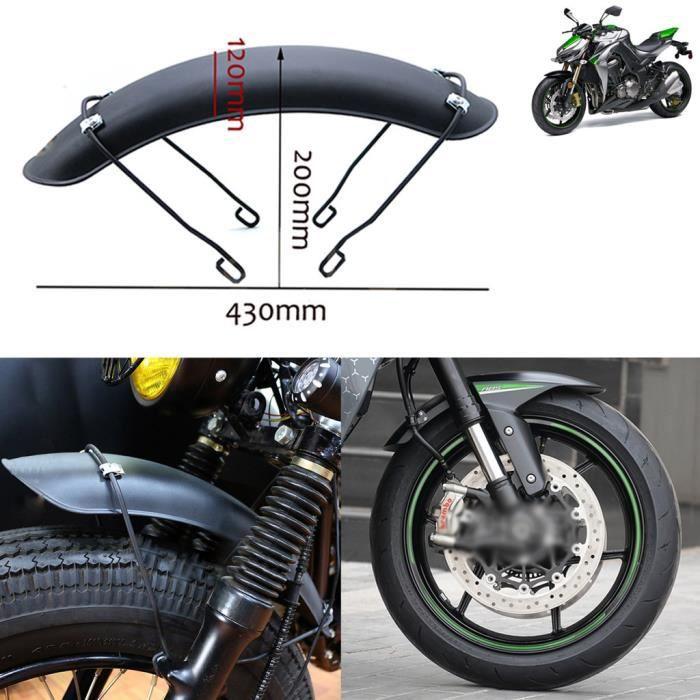 Accessoires moto Garde boue avant moto Flap Garde-boue noir pour 16-17-18 pouces roue avantSJP90806011_cot995