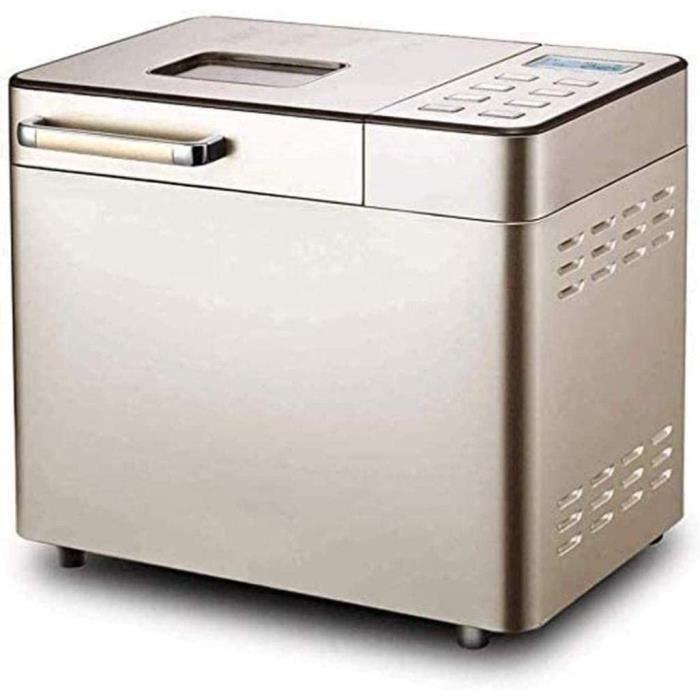 MACHINE A PAIN MISLD Photophore Machine À Pain, Machine À Pain De Petit-d&eacutejeuner, 25-in-1 Pain Programmable130
