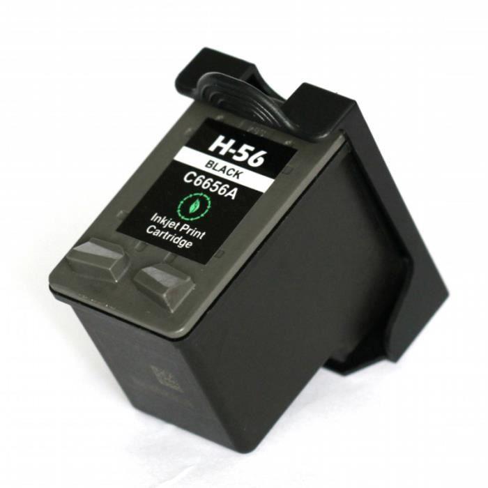 Cartouche d Encre NOIR HP Nº 56 compatible - XL pour HP Officejet 6110V