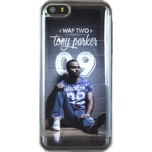 WT Coque de protection Tony Parker pour iPhone 5 / 5C / 5S - Rigide - Décor Mur