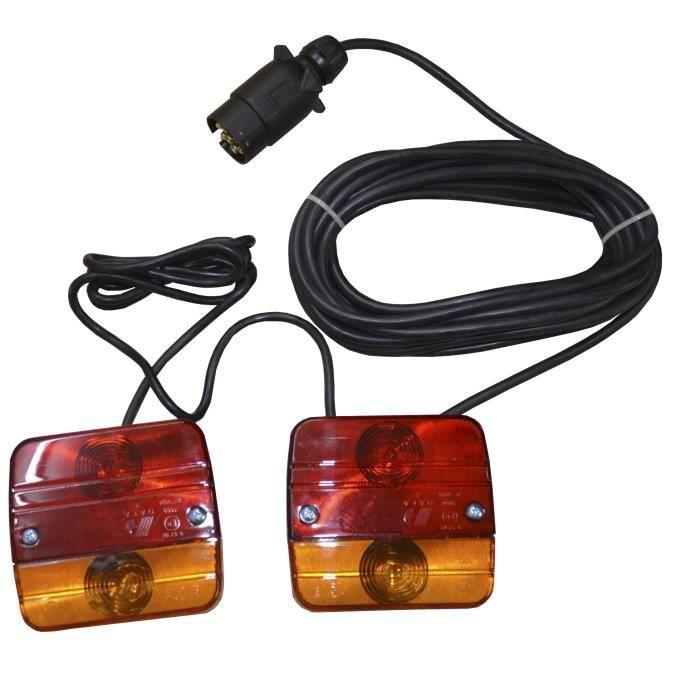 Kit d'éclairage pour remorques 12V