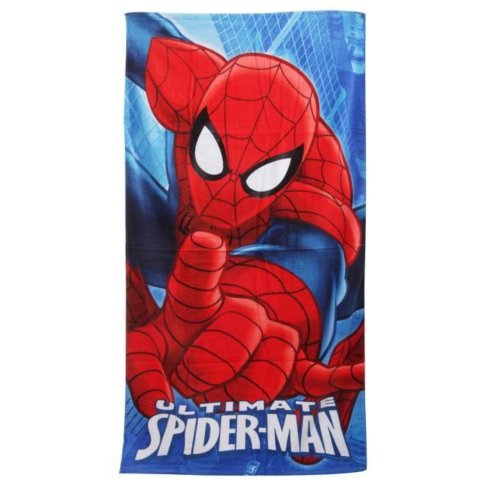 Ultimate Spiderman - Serviette de plage 100% coton