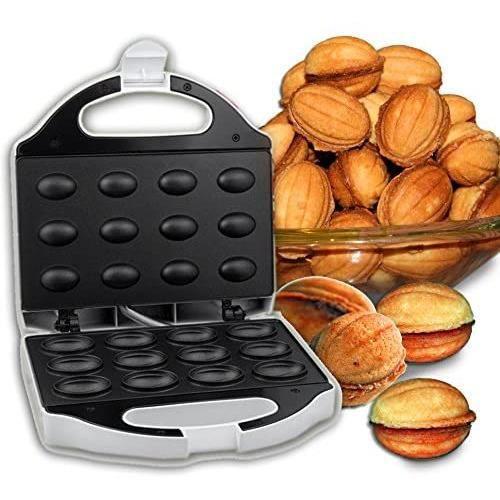 LeGro - 491831 - Appareil à plaque chauffante pour 12 biscuit en forme de noix