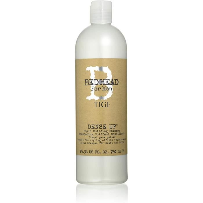 SHAMPOING Bed Head for Men by Tigi Dense Up Mens Thickening Style Building Shampoo 750 ml464