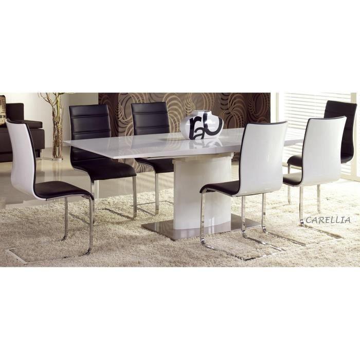 Table à manger extensible 180÷220 cm x 90 cm x 76 cm