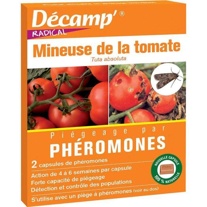 Phéromone contre la mineuse de la tomate (Boite de 2 capsules)