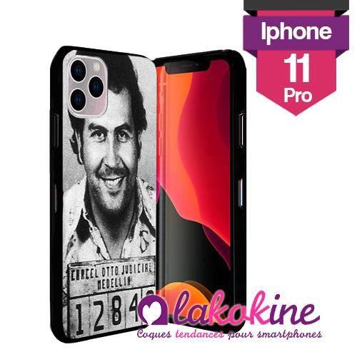 Coque Silicone Iphone 11 Pro Pabo Escobar