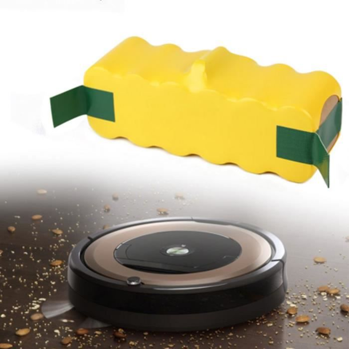 rechargeable Batterie de remplacement NI-MH 14.4V 4500MAH pour Irobot Roomba