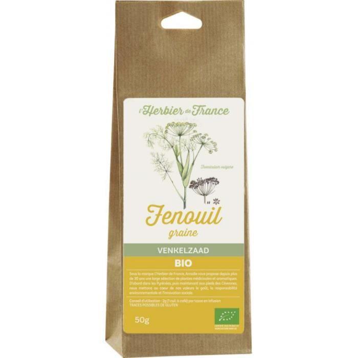 Fenouil graines sachet 50gr