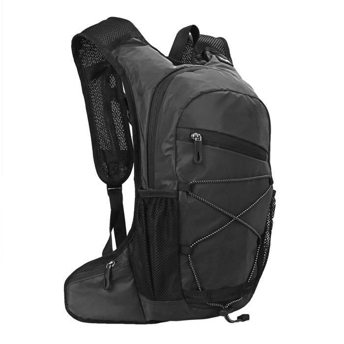 8L haute visibilité réfléchissant cyclisme hydratation sac à dos Sports de plein air course à pied randonnée sac à dos voyage sac-4