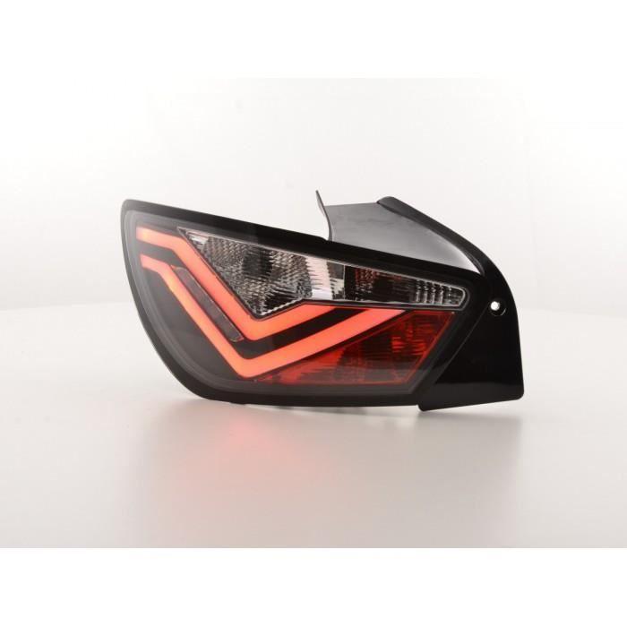 Led feux arrieres Seat Ibiza 6J 3 portes annee 08-12 noir