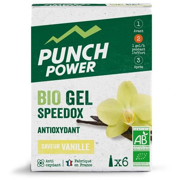 PUNCH POWER Speedox Vanille - Boîte 6 gels