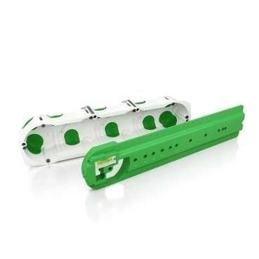 Boîte étanche Multifix Air - 4 postes - Entraxe 71 mm - Diamètre 67 mm - Profondeur 47 mm